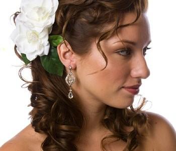 Свадебная прическа 109