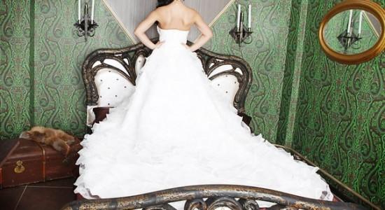 Свадебная прическа 12