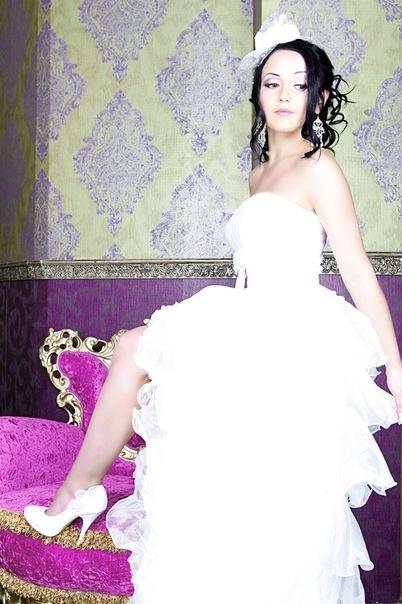 Свадебная прическа 123