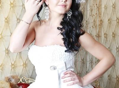 Свадебная прическа 13