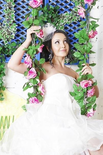 Свадебная прическа 131