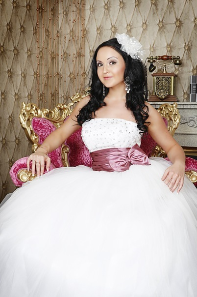 Свадебная прическа 152