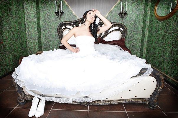 Свадебная прическа 154