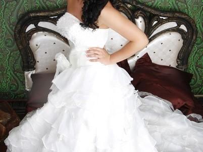 Свадебная прическа 166