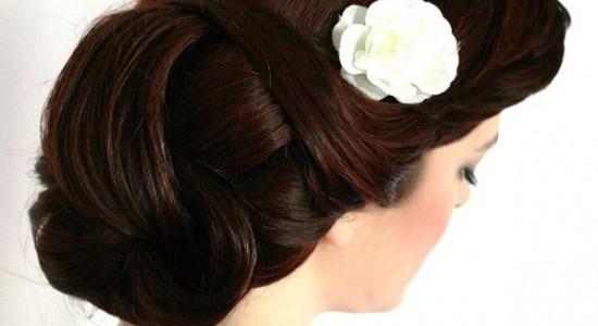 Свадебная прическа 189