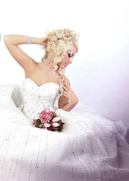 Свадебная прическа 207