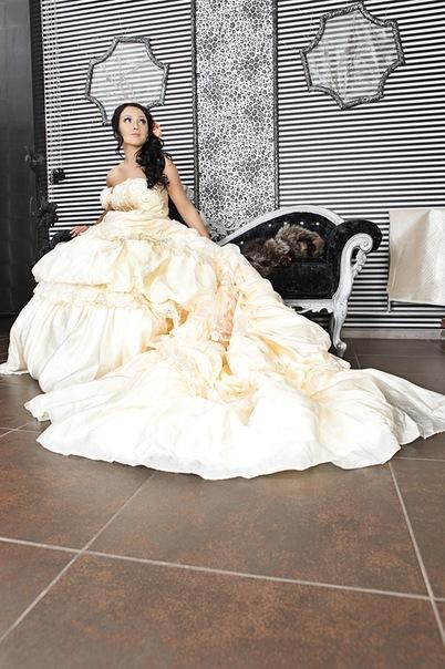 Свадебная прическа 21