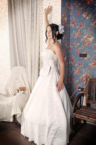 Свадебная прическа 33