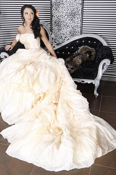 Свадебная прическа 34