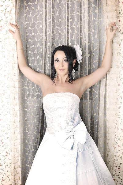 Свадебная прическа 35