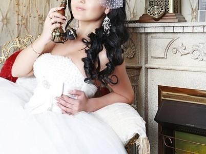 Свадебная прическа 36