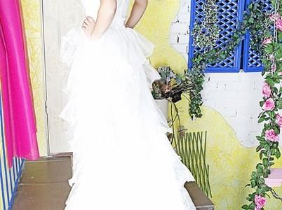 Свадебная прическа 44