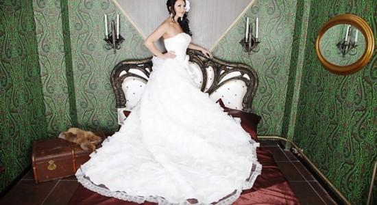 Свадебная прическа 47