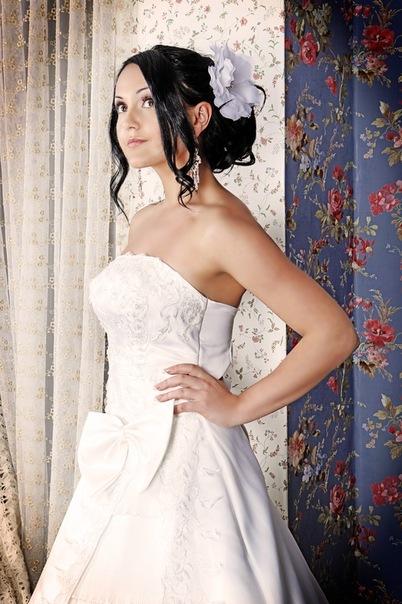 Свадебная прическа 55