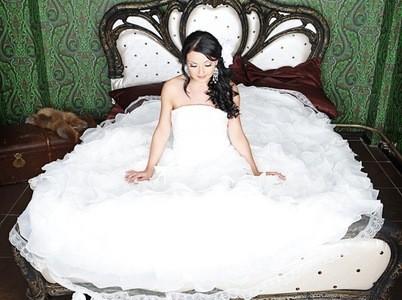 Свадебная прическа 7