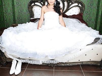 Свадебная прическа 8