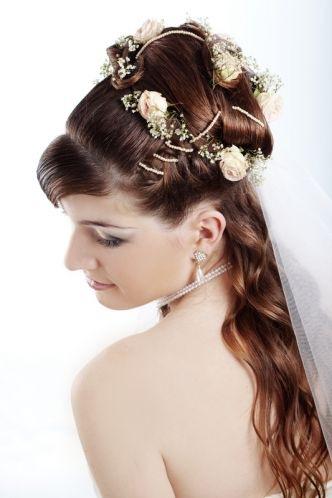 Свадебная прическа 94